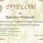 Certyfikat 1999.05.20 szkolenie Krakow