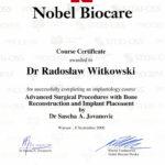 Certyfikat 2000.09.08 szkolenie Warszawa