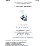 Certyfikat 2000.11.17 szkolenie Austria