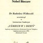 Certyfikat 2002.01.05 szkolenie Jadwisin