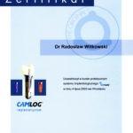 Certyfikat 2003.07.04 szkolenie Wroclaw