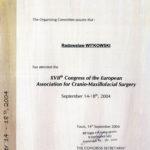 Certyfikat 2004.09.14 E.A.C.M.F.S Tours