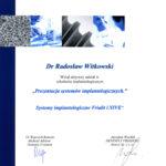 Certyfikat 2005.01.13 szkolenie Krakow