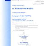 Certyfikat 2006.03.31 szkolenie Warszawa