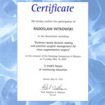 Certyfikat 2007.05.10 szkolenie Monako