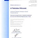 Certyfikat 2008.04.19 szkolenie Krakow