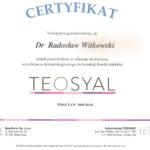 Certyfikat 2008.10.04 szkolenie Wroclaw