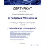 Certyfikat 2009.01.10 szkolenie Zab