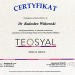 Certyfikat 2009.02.21 szkolenie Wroclaw