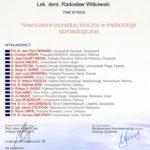 Certyfikat 2009.05.21 szkolenie Jurata