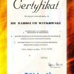 Certyfikat 2010.01.09 szkolenie Opole