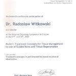 Certyfikat 2010.04.09 szkolenie Krakow