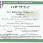 Certyfikat 2011.06.15 szkolenie Krakow