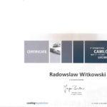 Certyfikat 2012.05.05 szkolenie Lucerne Szwajcaria