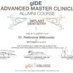 Certyfikat 2013.09.02 szkolenie LA