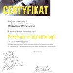 Certyfikat 2017.06.03 szkolenie Krakow