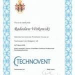 Certyfikat 2018.03.6 8 szkolenie UK