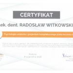 Certyfikat 2018.12.08 szkolenie Krakow