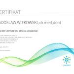 Certyfikat 2019.06.13 szkolenie Zagrzeb