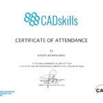 Certyfikat 2019.06.20 szkolenie Belgia
